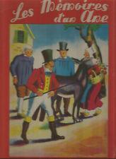 Livre pour enfant Les mémoires d'un âne comtesse de Ségur illustrations couleurs
