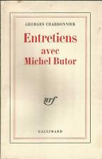 Georges Charbonnier, Entretiens avec Michel Butor
