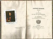 Douze fables dédiées à Monseigneur le Duc de Montpensier, Pierre Villiers 1829