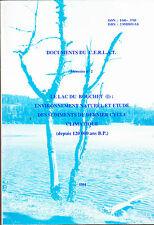 Environnement naturel et étude des sédiments du dernier cycle climatique
