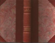 Lamartine, Harmonies politiques et religieuses, Lemerre, 1885, bien relié