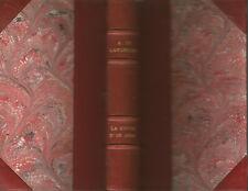 Lamartine, La Chute d'un ange, Lemerre, 1885, bien relié