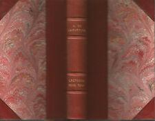 Lamartine, Lectures pour tous, Lemerre, 1891, bien relié