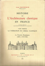 Histoire de l'architecture classique en France, Louis Hautecoeur