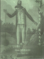 Al. Sinibaldi Librairie Henner Livres anciens, romantiques et modernes mars 2009