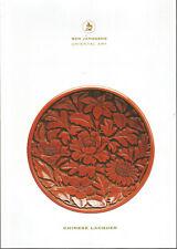 Catalogue Ben Janssens Oriental Art Chinese Lacquer