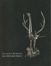 Catalogue de la galerie Jacques Barrère Art d'Extrême-Orient
