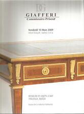 Mobilier et objets d'art, tableaux, bijoux, 13 mars 2009, Giafferi, Drouot