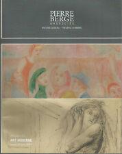 Pierre Bergé, Art moderne, Bruxelles, 16 juin 2007 catalogue de vente