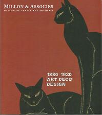 Millon & Associés, 1880-1920, Art déco, Design, juin 2011