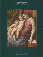 Peintures italiennes du XIVe au XVIIIe siècle, Galerie Adriano Ribolzi