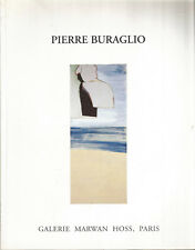 Pierre Buraglio (1965-1998), Galerie Marwan Hoss, texte de Pierre Wat
