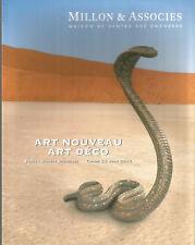 Millon & Associés, Art nouveau Art déco vente du 28 juin 201 à Paris Drouot