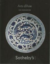 Sotheby's Arts d'Asie, catalogue de la vente du 18 décembre 2008 à Paris