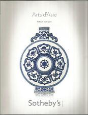 Sotheby's Arts d'Asie, catalogue de la vente du 9 juin 2011 à Paris