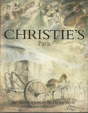 Chrstie's Paris, Dessins anciens et du 19ème siècle, jeudi 21 mars 2002
