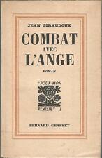 Jean Giraudoux, Combat avec l'ange, édition originale sur alfa