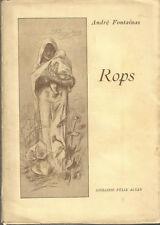 André Fontainas, Rops, 1925, illustré de 15 planches