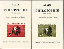 Alain, Textes choisis pour les classes, tome 1 et 2
