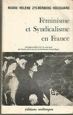 Féminisme et syndicalisme en France, Marie-Hélène Zylberberg-Hocquard