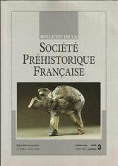 Bulletin de la Société Préhistorique Française Juil.-sep 2005 Tome 102 numéro 3