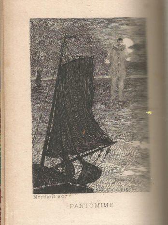 Jean Richepin, La Mer, avec deux compositions de Henri Caruchet gravées à l'eau-forte par Mordant