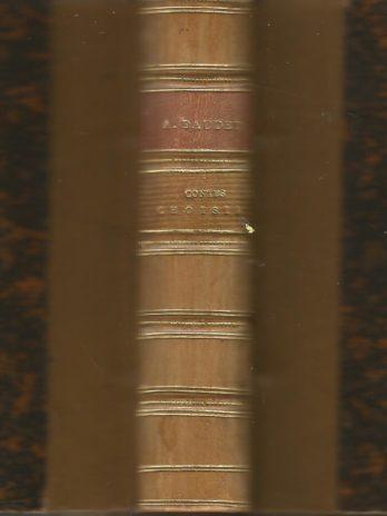 Alphonse Daudet, Contes choisis, La Fantaisie et L'Histoire, avec deux eaux-fortes d'Edmond Morin
