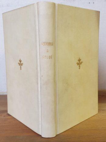 Longus, Les amours pastorales de Daphnis & Chloé traduites en français par Jacques Amyot