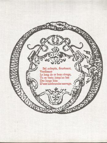 Pierre de Ronsard, Œuvres choisies