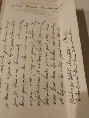 Mémoires de la baronne d'Oberkirch publiés par le comte de Montbrison son petit-fils et dédiés à Sa Majesté Nicolas Ier Empereur de toutes les Russies, avec un fac-similé de l'écriture de S. M. Marie Fedorowna (1853)