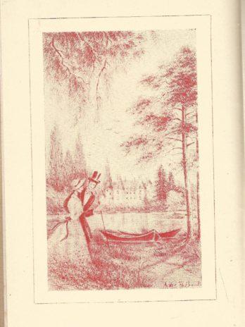Sylvie, Souvenirs du Valois par Gérard de Nerval. Illustrations de André Thébault