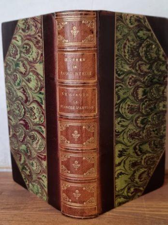 Lord Byron, Le Giaour, La fiancée d'Abydos, Le corsaire, Lara, etc.