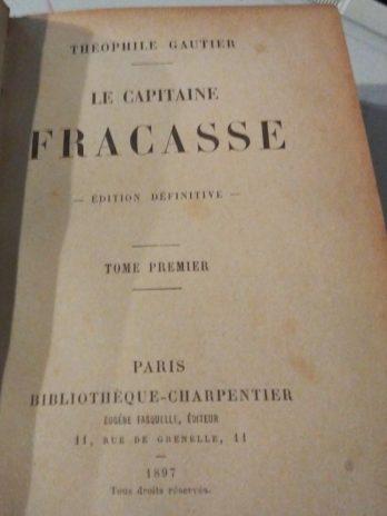 Théophile Gautier, Le capitaine Fracasse, édition définitive