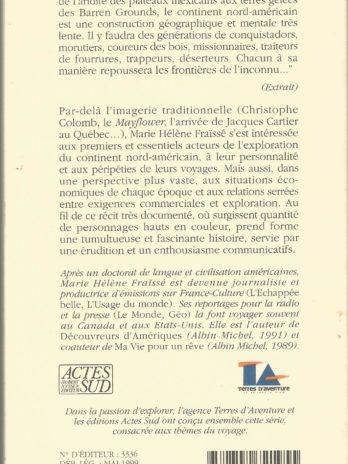 Aux commencements de l'Amérique, 1497-1803: Récit, par Marie-Hélène Fraïssé