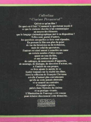 L'expression cinématographique, les éléments du film et leurs fonctions, par François Chevassu