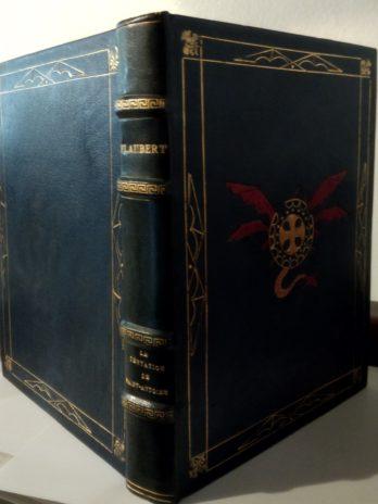 Flaubert, La Tentation de Saint Antoine, compositions de Georges Rochegrosse