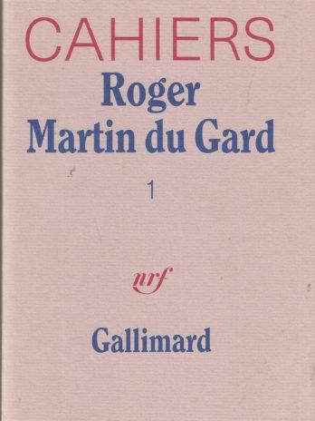Cahiers Roger Martin du Gard n° 1
