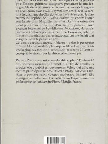 Sage comme une image. Figures de la philosophie dans les arts, Régine Pietra