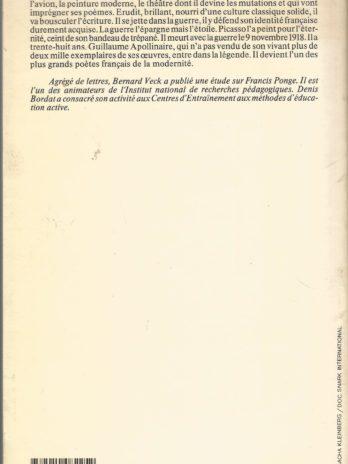 Apollinaire, par Denis Bordat et Bernard Veck