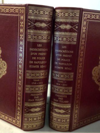 Les indiscrétions d'un préfet de police de Napoléon (comte Réal)