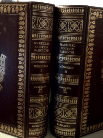 Mémoires du maréchal Gouvion Saint-Cyr (1812-1813)
