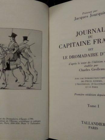 Journal du capitaine François dit le dromadaire d'Égypte