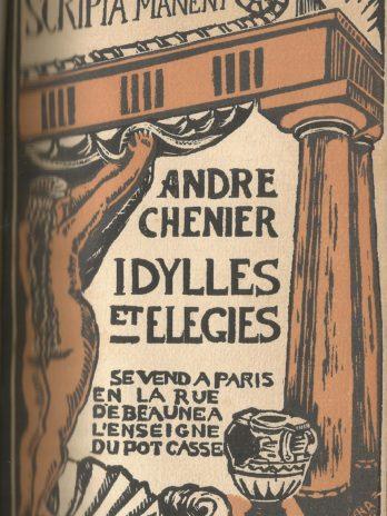 André Chénier, Idylles et élégies